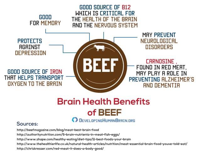 brain food beef