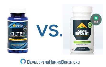 ciltep vs alpha brain
