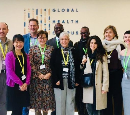 Developing Country NGO Delegation at the 40th Board Meeting