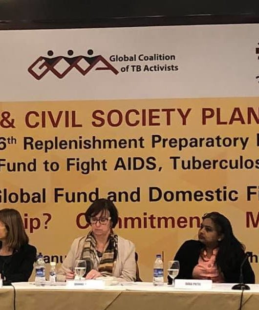 Step up the fight against HIV, TB and Malaria and commit to a minimum of US$40 million for Global Fund Sixth Replenishment – India Civil Society calls on the Government of India