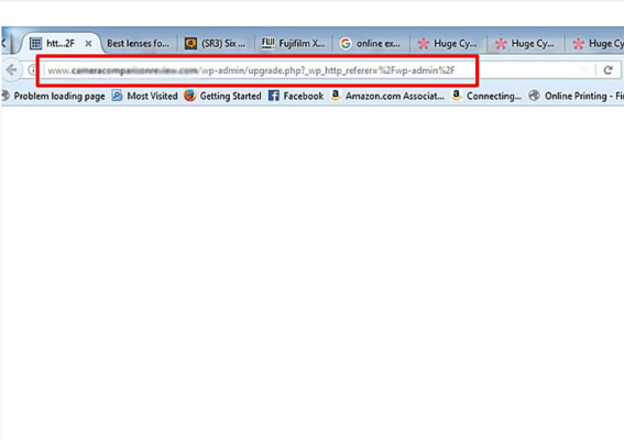 Problem Solved: upgrade.php?_wp_http_referer=%2Fwp-admin%2F
