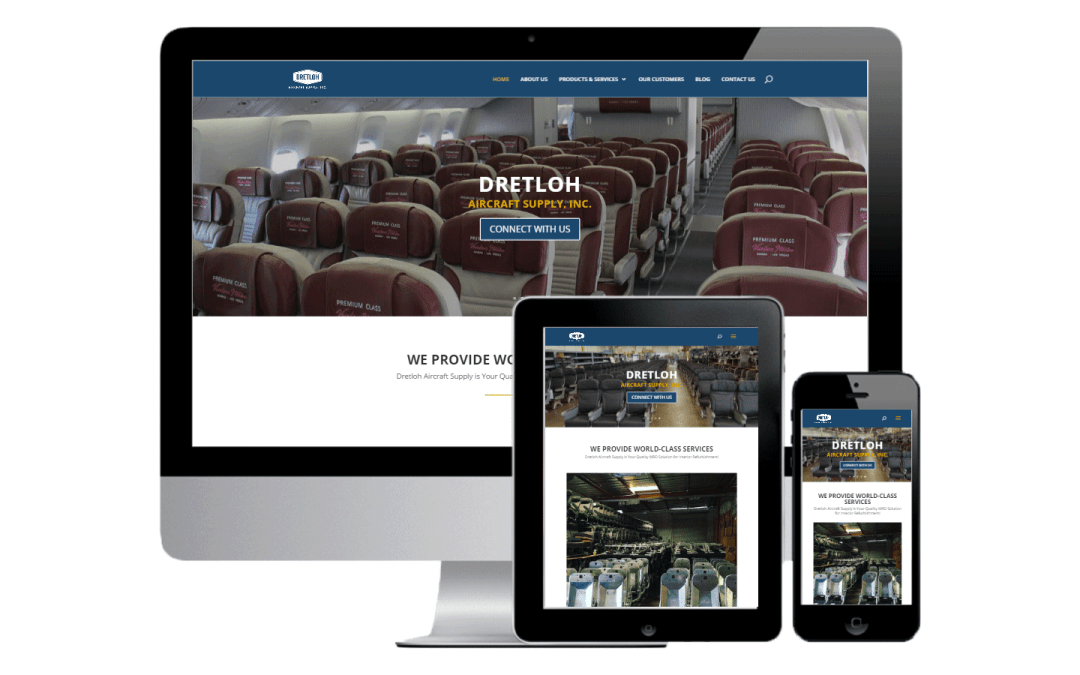 Dretloh Aircraft Supply Website