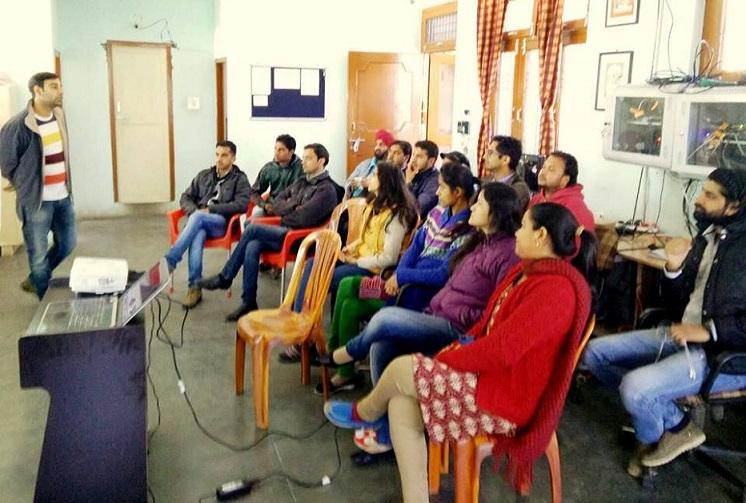 Presentation on Dharamshala Smart City project