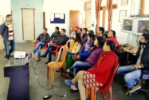 Dharamshala smart city project presentation at DLS