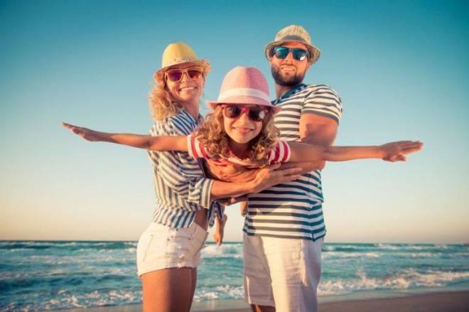 des vacances en famille