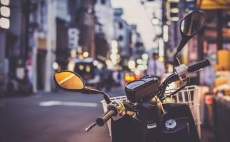 Asie à moto
