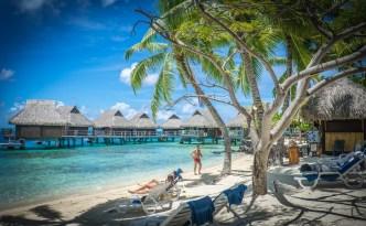 Les vacances sur la plage de Tahiti