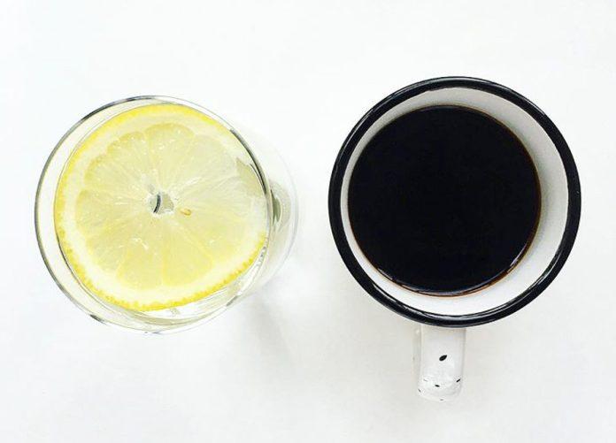 Ganti Kopi Dengan Air Lemon