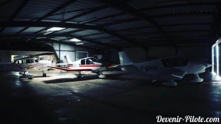 Hangar de l'Aéroclub de Montpellier