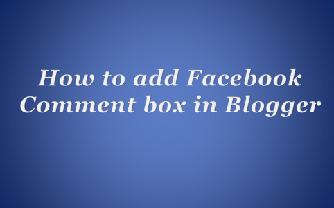 Facebook Comment Box
