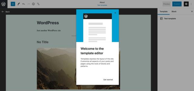 1. Full Site Editing Feature