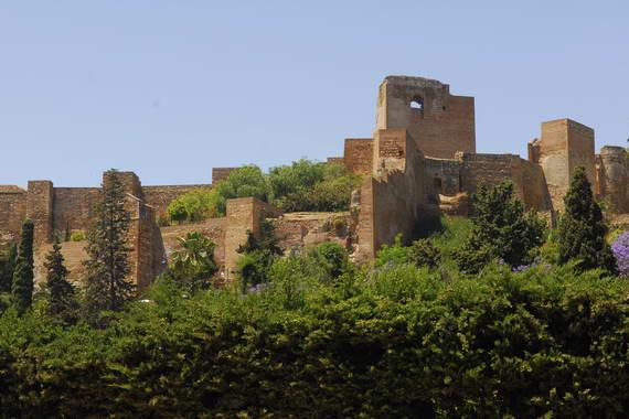 El Castillo de Gibralfaro de Málaga