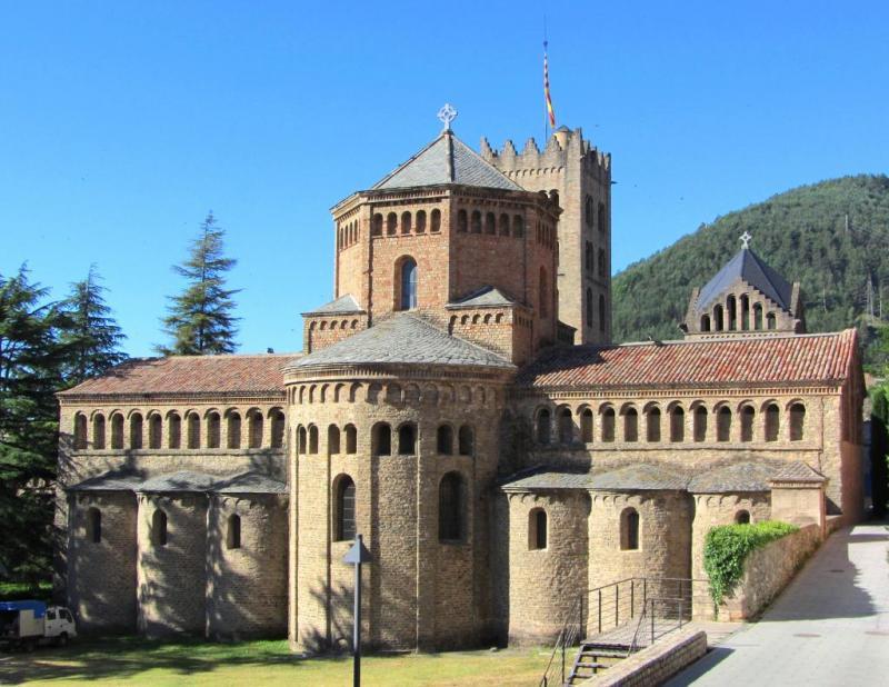 Monasterio de Santa María de Ripoll en Cataluña