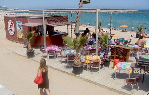 Chiringuitos en las playas de Barcelona (II)