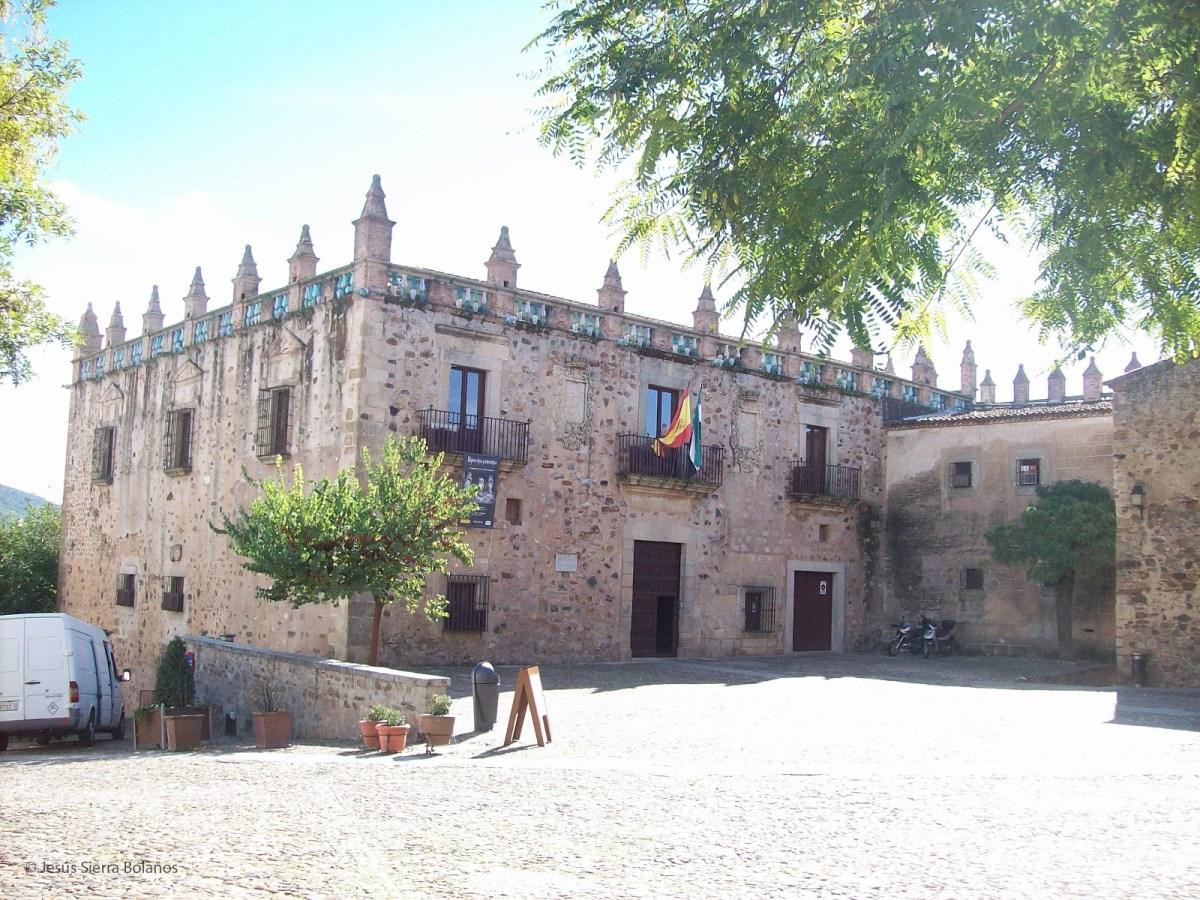 EL Palacio de las Veletas en Cáceres