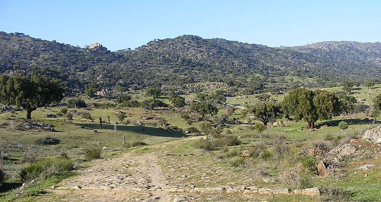 Monte Valcorchero y Sierra del Gordo
