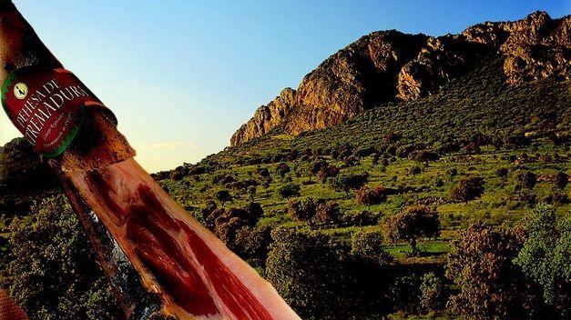 El jamón Ibérico de Extremadura