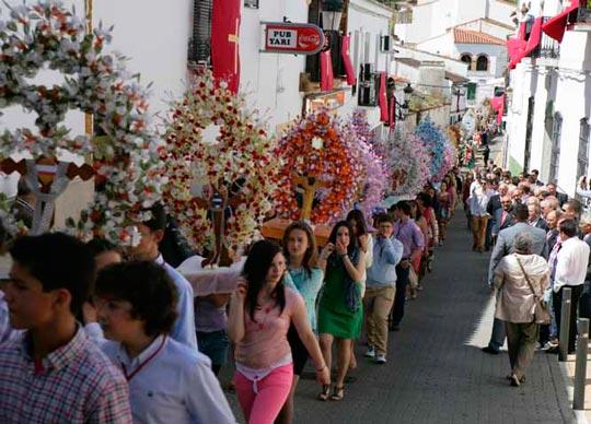 Fiesta de la Santa Cruz en Feria