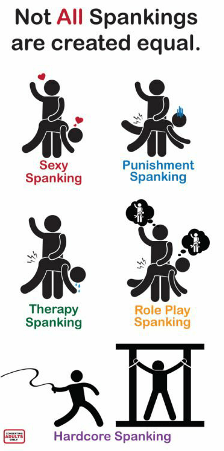 Spanking role playing