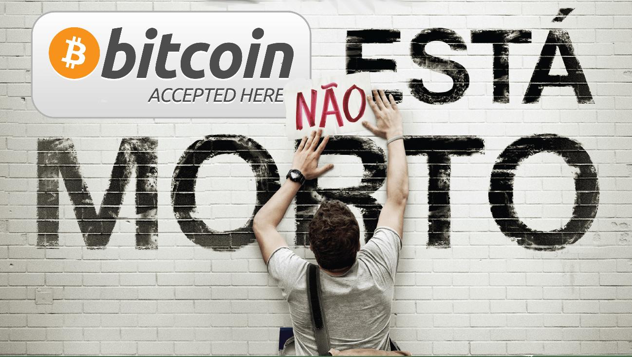 O BitCoin está morto (de novo), vida longa ao BitCoin (de novo)