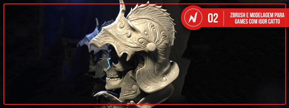 N-PIX Podcast #02 : ZBrush e modelagem para games com Igor Catto