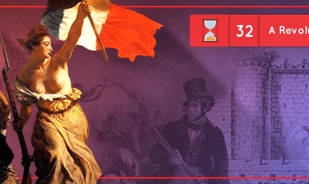 Fronteiras no Tempo #32: A Revolução Francesa