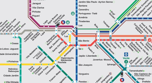 É a forma da cidade que impacta a localização das linhas de metrô ou o contrário?