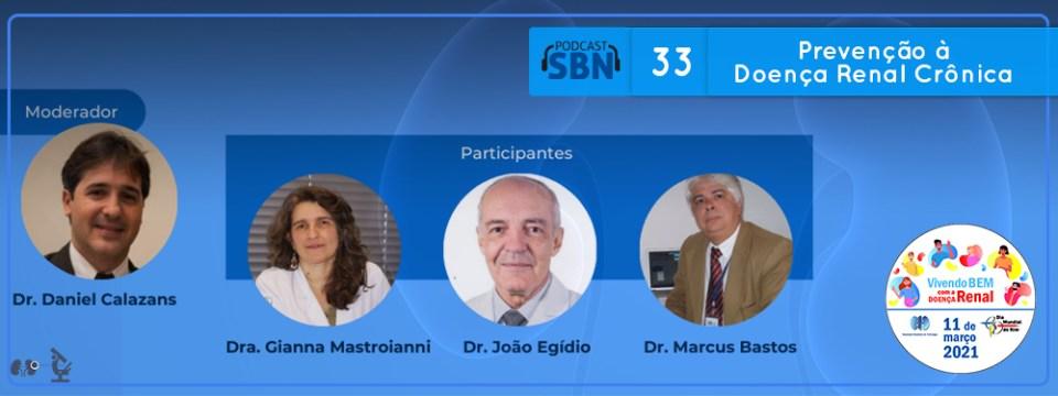 Prevenção à Doença Renal Crônica (SBN #33)