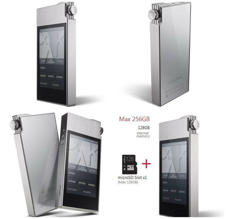 Device-Boom: Music MP3 player iRiver Astell & Kern AK120 ...