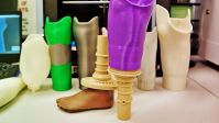 throughout the 3-D-Printed Limb manufacturing facility