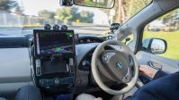 What It's Like To Ride The Streets of Silicon Valley In Nissan's Autonomous Electric Car