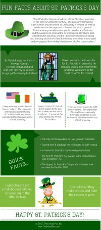 Fun Facts About St. Patrick's Day (Infographic)