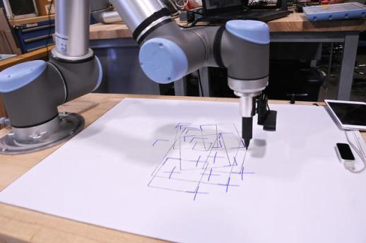 unique: within Autodesk's Robotics Lab Of the future