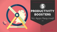 5 tips on how to boost Your productiveness – No Apps Required