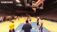 Twitter peeks at 360-degree video with Samsung campaign for NBA Finals
