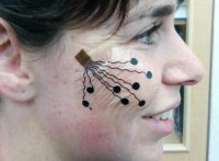 Temporary nanotech 'tattoos' can track your facial expressions
