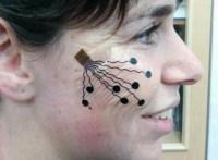 Temporary nanotech 'tattoos' can track your facial expressions