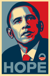 """Where Is This Election's """"Hope"""" Poster?"""