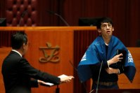 New Lawmakers Pledge Loyalty to the 'Hong Kong Nation'