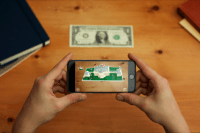 For a dollar bill, you can get a cool AR view of life in the White House