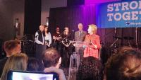 """In Goodbye Speech, Clinton Says She's Heard From People """"Scared"""" Since Election"""