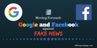 Moving Forward: Google and Facebook Against Fake News