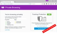 New Mozilla Browser Blocks Tracking