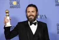Amazon wins first Golden Globe film award for 'Manchester'