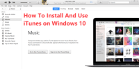Download iTunes for Windows 10 – How To Install And Use iTunes on Windows 10