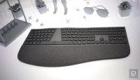 Microsoft's Surface Ergonomic Keyboard makes typing a pleasure