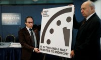 The Doomsday Clock is the closest to midnight since 1953