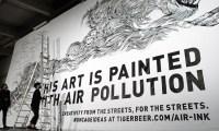 Air pollution makes surprisingly good art supplies