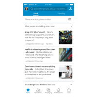"LinkedIn Aims To Turn New ""Trending Storylines"" Into A Daily Habit–And A Moneymaker"