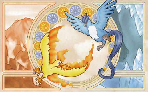 Fire and ice pokemon Go (Image Source-PokeWalls)